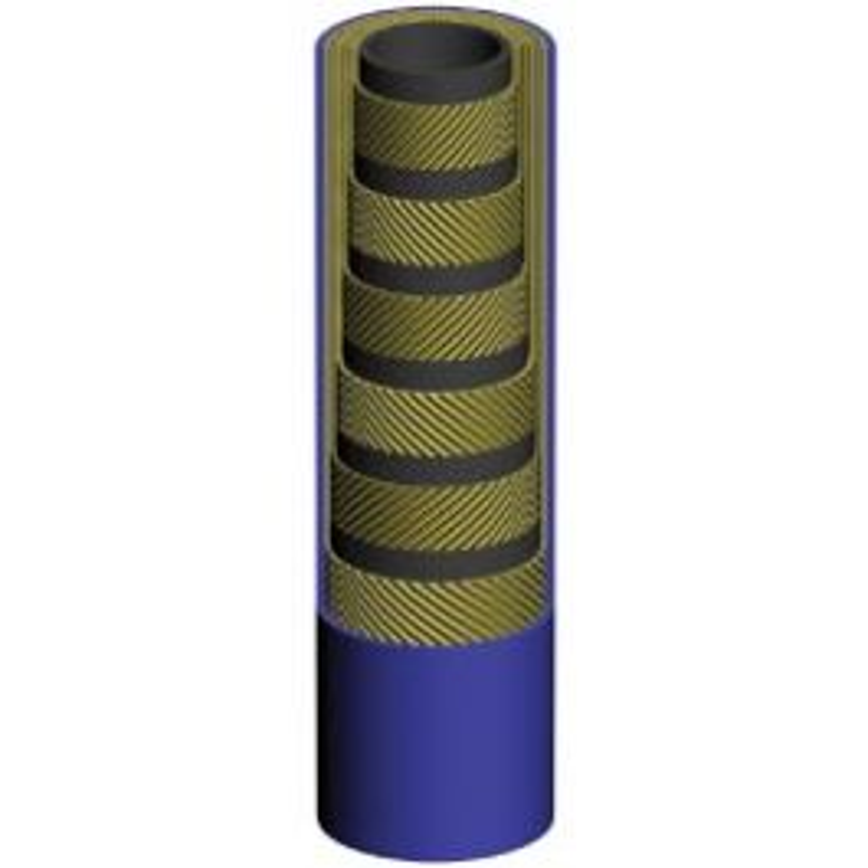 Ultra high pressure thermoplastslang 6-stål