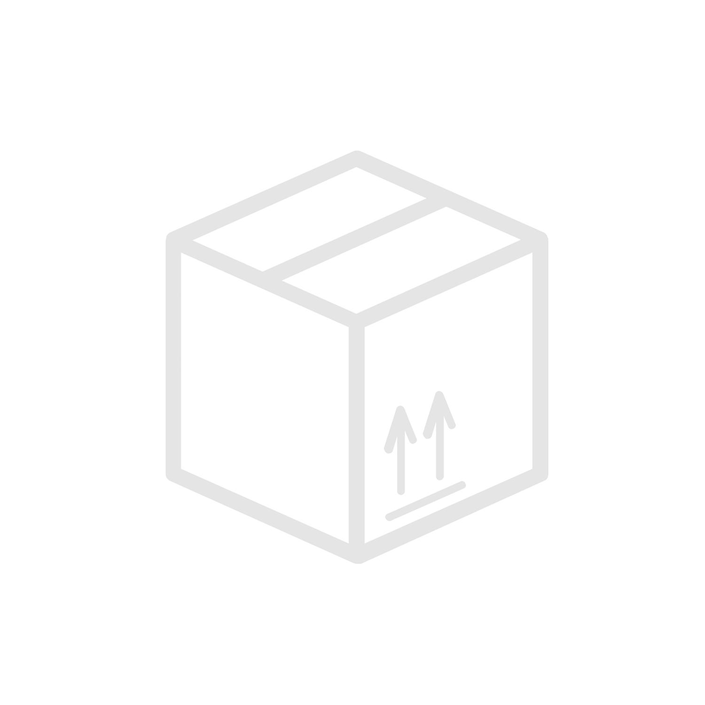 Rak adapter G-gänga utv/inv kort Syrafast