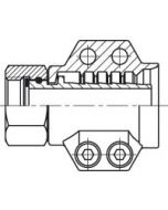 Steam fitting FS incl. safety clamps