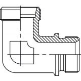 WE – MB 90 elbow fitting – M M