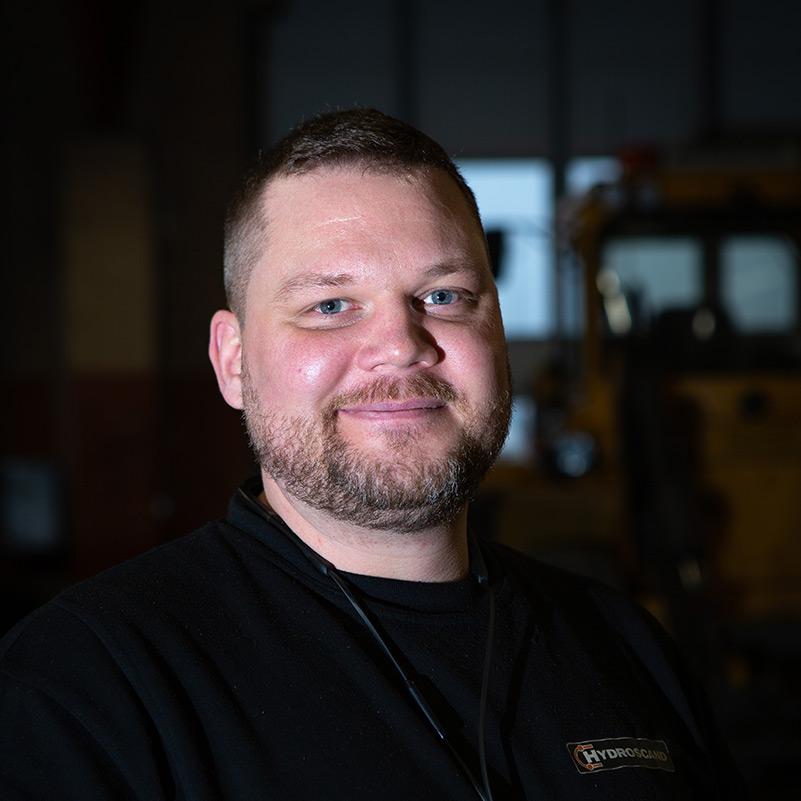 Daniel, servicetekniker