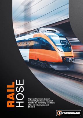 Rail Hose brochure cover